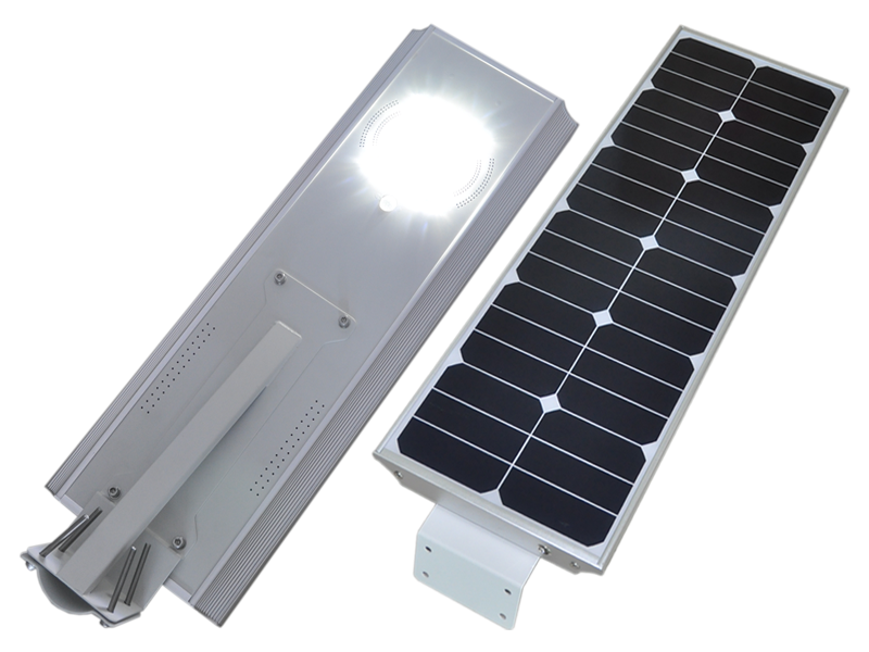 Hitechled optoelectronics all in one integrated solar led - Lamparas solares de led ...