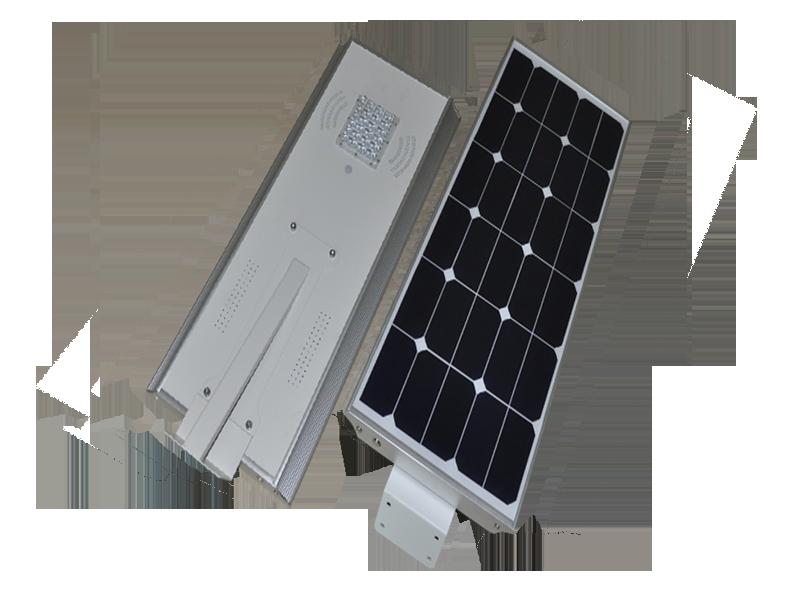 Hitechled optoelectronics all in one integrated solar led for Alumbrado solar jardin