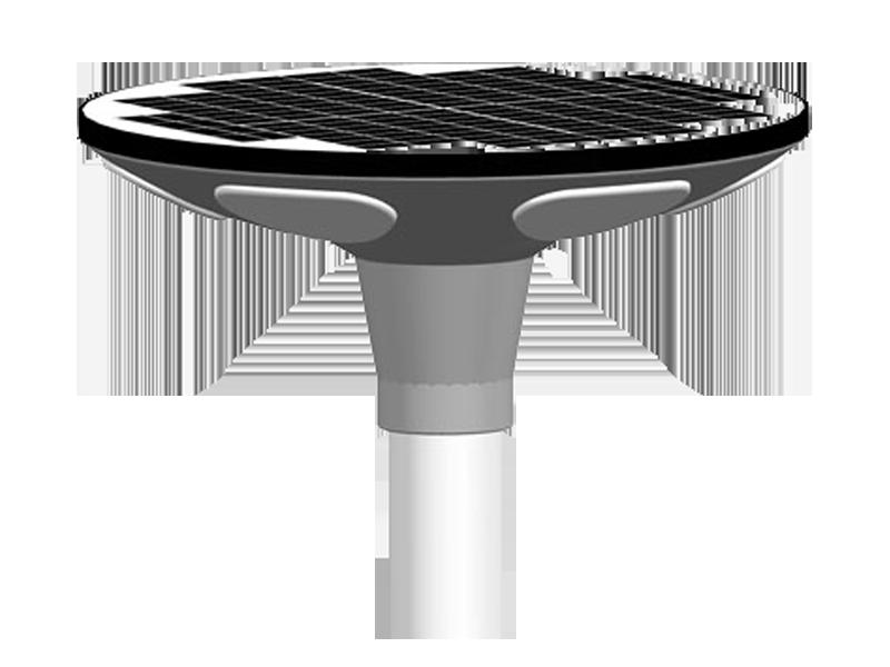 Ht Ufo 2515 30w 2 000lm 3 Integrated Solar Led Garden Light